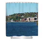 Chelsea Harbor In Fall Shower Curtain