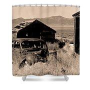 Cherry Creek   Nevada Shower Curtain