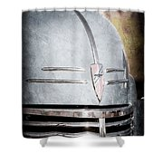 Chevrolet Hood Emblem - Grille Emblem Shower Curtain