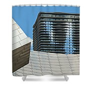 Chicago Architecture Shower Curtain