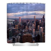 Chicago Il. Skyline, May 2009 Shower Curtain