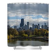 Chicago Lincoln Park Shower Curtain