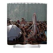 Chicago Navy Pier Shower Curtain
