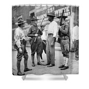 Chicago Race Riot, 1919 Shower Curtain