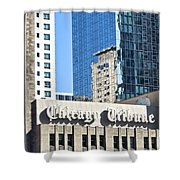 Chicago Tribune Shower Curtain
