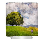 Childhood Dreams Shower Curtain