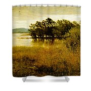 Chill October Shower Curtain