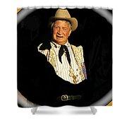 Chill Wills Old Tucson Arizona 1971-2008 Shower Curtain