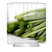 Chives Shower Curtain