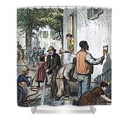 Cholera Epidemic, 1873 Shower Curtain