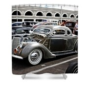 Chopped Ford Coupe Shower Curtain by Steve McKinzie
