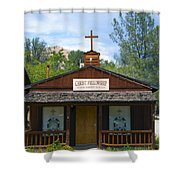 Christ Fellowship Wofford Heights Shower Curtain