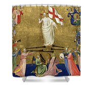 Christ Glorified In The Court Of Heaven Shower Curtain