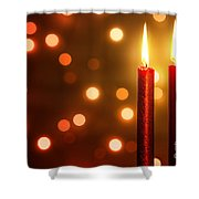 Christmas Ambiance Shower Curtain