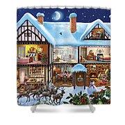 Christmas House Shower Curtain