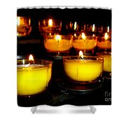 Church Candles Shower Curtain