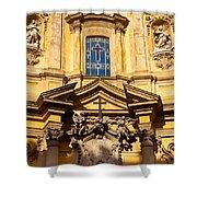 Church Facade Shower Curtain