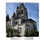 Church - Loches - France Shower Curtain
