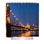 Cincinnati, Ohio Shower Curtain