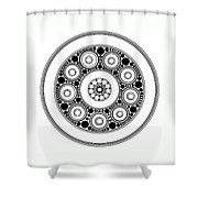 Circle Motif 138 Shower Curtain