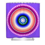 Circle Motif 224 Shower Curtain
