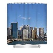 Circular Quay In Central Sydney Australia Shower Curtain