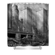 City - Chicago Il - Continuing A Legacy Shower Curtain