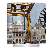 City Of Amsterdam Urban Scenery Shower Curtain