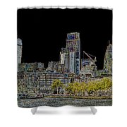 City Of London Art Shower Curtain