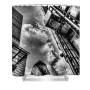 City Of London Iconic Buildings Shower Curtain
