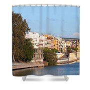 City Of Seville In Spain Shower Curtain
