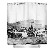 Civil War: Wounded, 1862 Shower Curtain