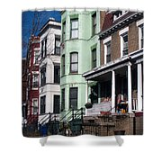 Classic American Architecture In Washington Dc Shower Curtain