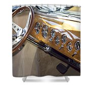 Classic Car Interior Shower Curtain