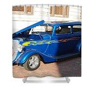 Classic Custom Car Shower Curtain