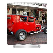 Classic Custom Hotrod Shower Curtain