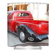 Classic Custom Pickup Truck Shower Curtain