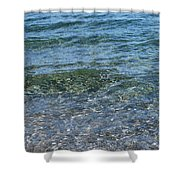Clear Waters 3 Shower Curtain
