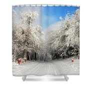Clearing Skies Shower Curtain