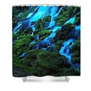 Clearwater Falls Shower Curtain