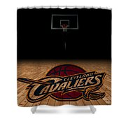 Cleveland Cavaliers Shower Curtain