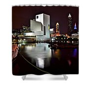Cleveland Lakefront Shower Curtain