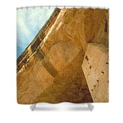 Cliff Palace Tower Shower Curtain