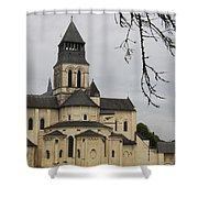 Cloister Fontevraud -  France Shower Curtain