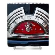 Close-up Of A Mercury Classic Car Of Shower Curtain
