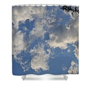 Clouds 10 Shower Curtain