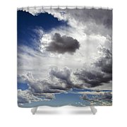 Cloudscape 1 Shower Curtain