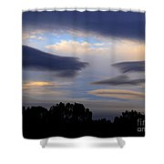 Cloudy Day 2 Shower Curtain