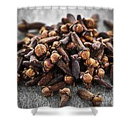 Cloves Shower Curtain