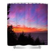 Coastal Skies Shower Curtain